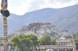 The Potala, the great palace of the Dalai Lama, Lhasa, Tibet 2011